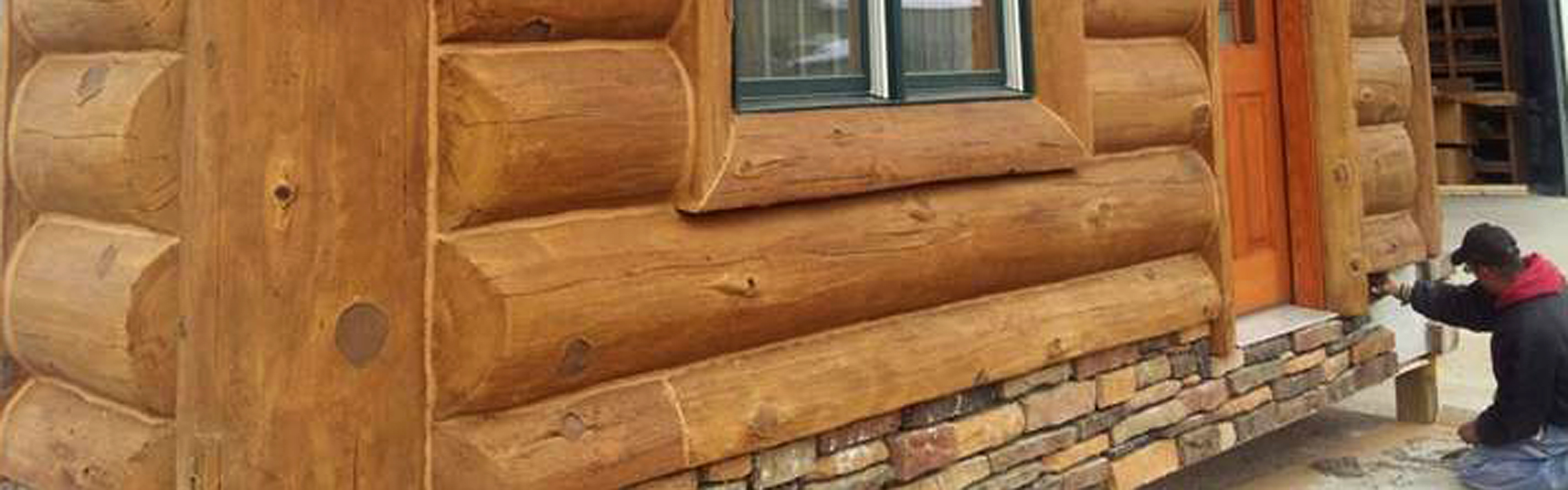 Fast And Hassle Free Concrete Log Siding Installation
