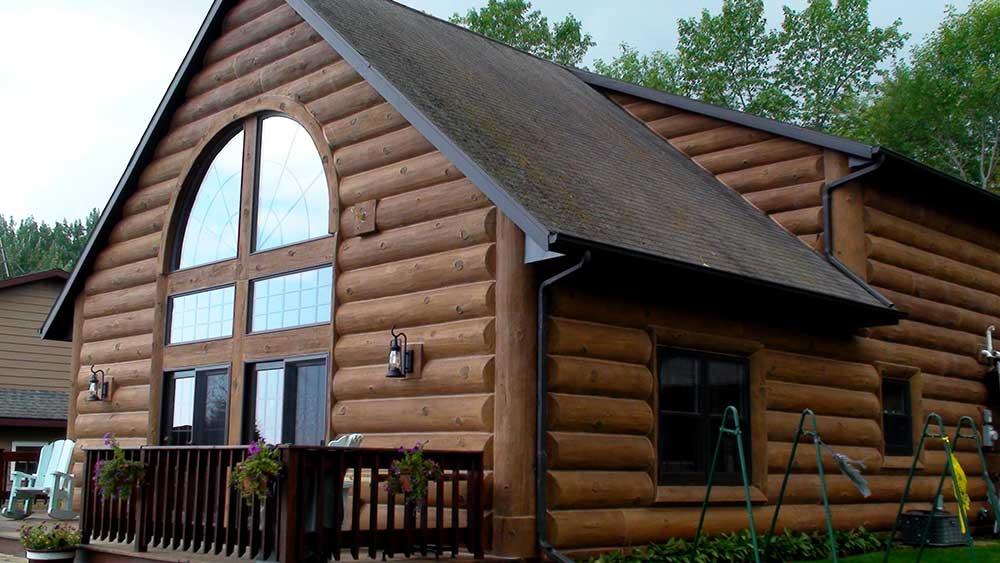 Green Bay Wisconsin Residence Project Nextgen Logs