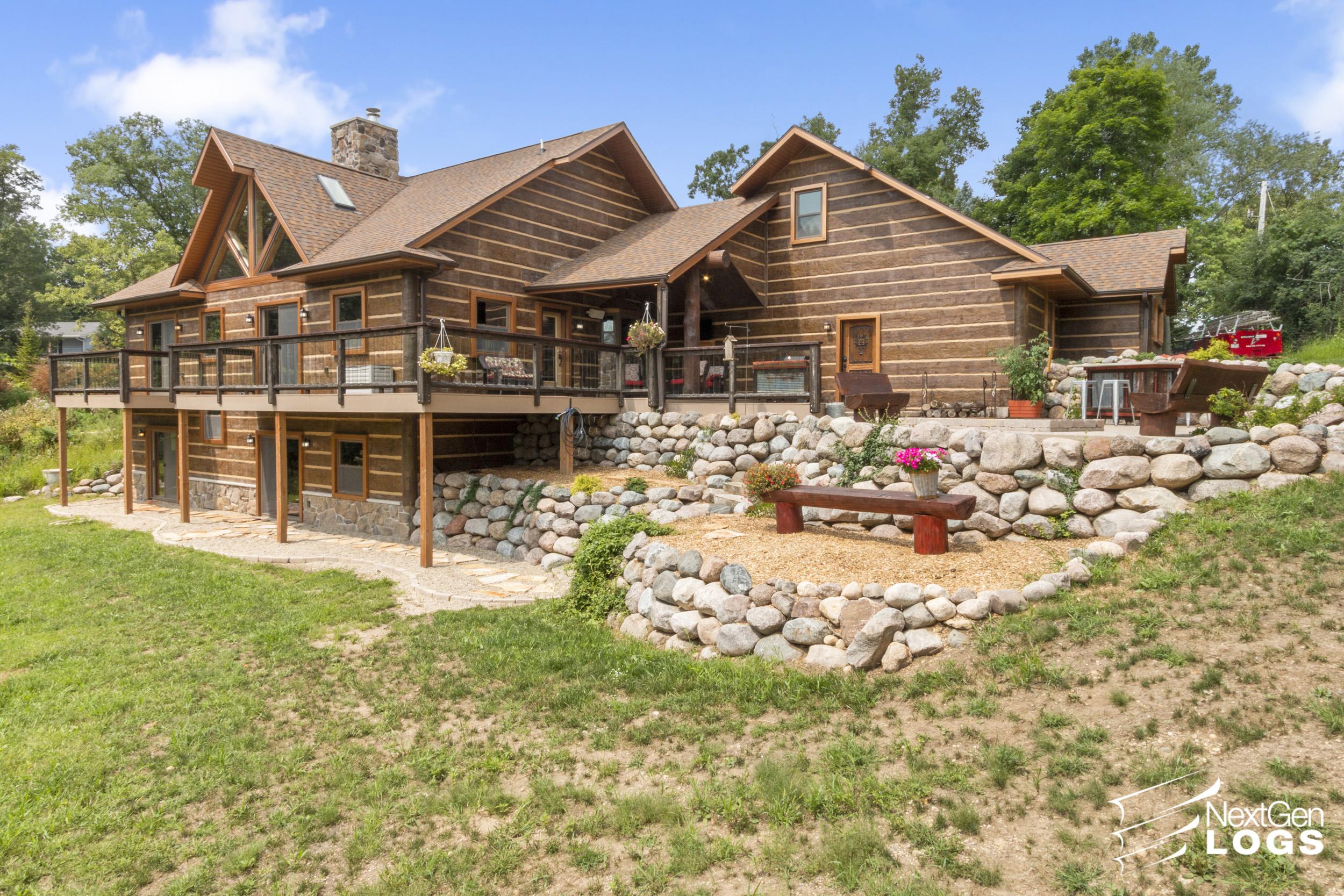 Elkhorn Wi Hand Hewn Sided Home Nextgen Logs