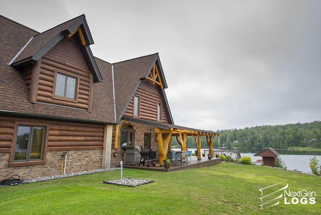 Sault Ste Marie Canada Residence Project Nextgen Logs