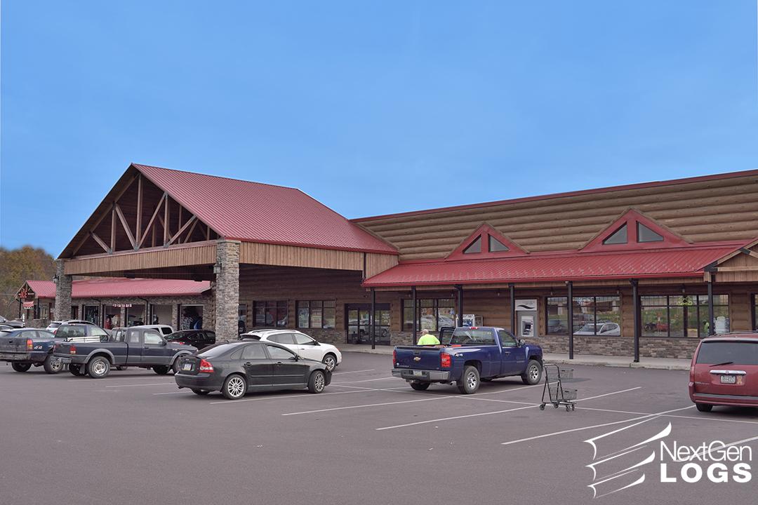 Hunlock Creek Pa Strip Mall Nextgen Logs