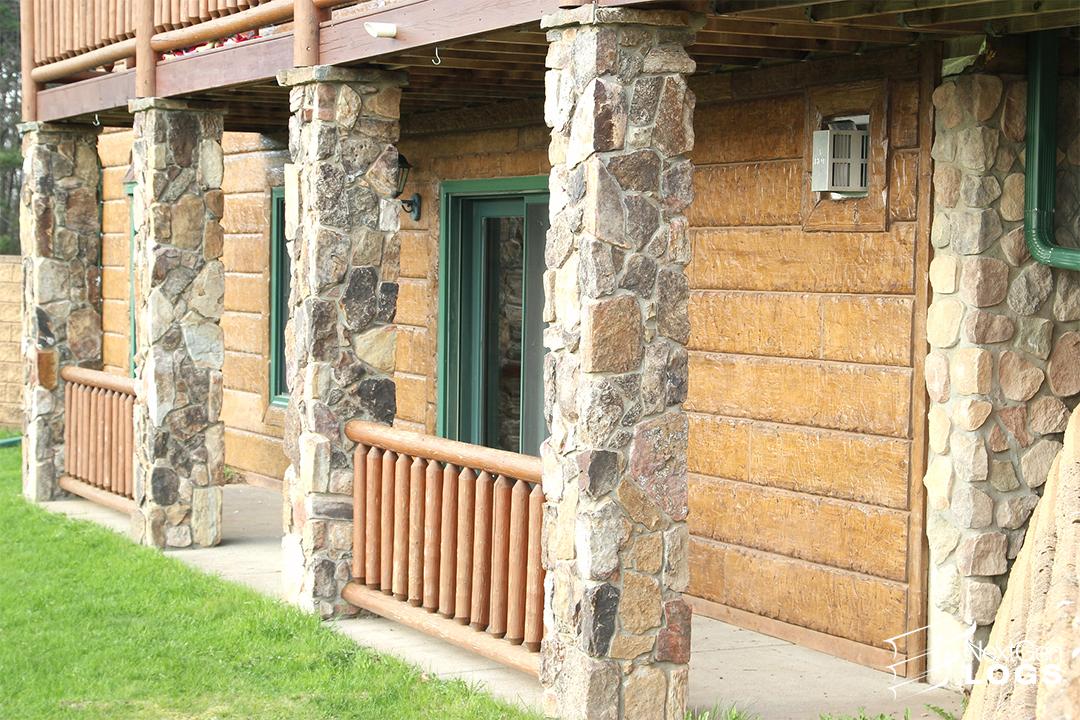 Osseo Wi Hand Hewn Home Remodel Nextgen Logs